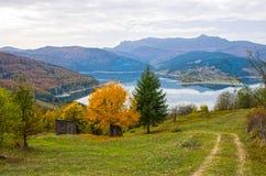 Herfst landschap Stock Afbeelding