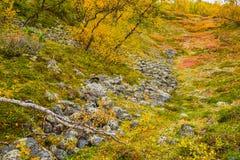 Herfst landschap stock fotografie