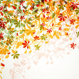 Herfst ontwerp stock illustratie