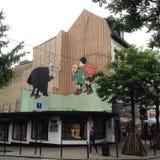 Herge em Bruxelas Imagens de Stock Royalty Free