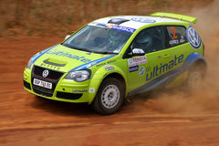 Hergen Fekken. At the Toyota Dealers Rally. Johannesburg, South Africa. 18 October 2008 stock images