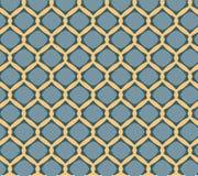 Herhaal patroon moderne grafische vectorachtergrond Royalty-vrije Stock Foto