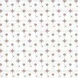 Herhaal punt grijs en wit abstract geometrisch vectorpatroon als achtergrond Stock Fotografie