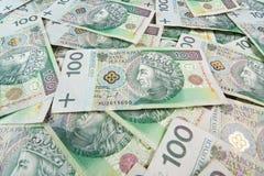 Herhaalbare 100's PLN Stock Afbeeldingen