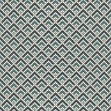 Herhaald chevrons abstract behang Aziatisch traditioneel ornament met kammosselen Naadloos oppervlaktepatroon met schalen royalty-vrije illustratie