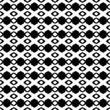 Herhaald zwart-wit patroon als achtergrond royalty-vrije illustratie