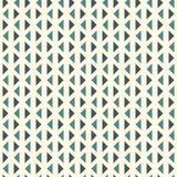 Herhaalde driehoeken op witte achtergrond Eenvoudig abstract behang Naadloos patroonontwerp met geometrische cijfers Royalty-vrije Stock Afbeeldingen