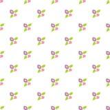 Herhaalde naadloze textuur met abstract bloemenpatroon Royalty-vrije Stock Afbeelding