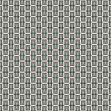 Herhaalde verticale rechthoekige blokkenachtergrond Bakstenenmotief Eigentijds naadloos patroon met geometrisch ornament royalty-vrije illustratie