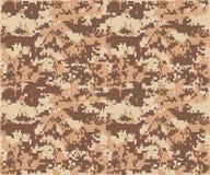 Herhaalt de textuur militaire camouflage naadloos leger Stock Foto