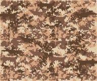 Herhaalt de textuur militaire camouflage naadloos leger Stock Fotografie