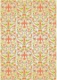 Herhaalt kleurenachtergrond Royalty-vrije Stock Afbeeldingen