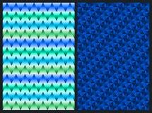Herhalend Geometrisch Patroon Royalty-vrije Stock Foto