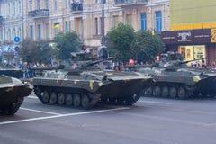 Herhaling van de parade Stock Fotografie