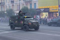 Herhaling van de parade Stock Foto's