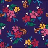 Herhaling van Hibiscus Royalty-vrije Stock Afbeelding