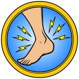 Herida en el tobillo libre illustration