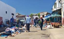 Heridas de la pulga en Rabat fotos de archivo