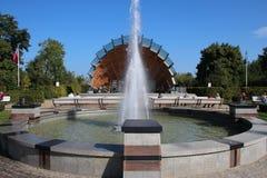Heringsdorf Park - Niemcy obrazy stock