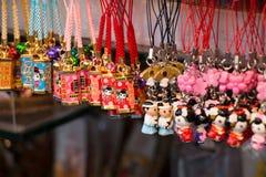Herinnering bij asakusamarkt voor Tempel, Tokyo, Japan royalty-vrije stock foto