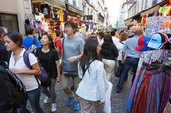 Herinnering die in Parijs Frankrijk winkelen Royalty-vrije Stock Afbeelding
