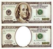 Herinnering honderd dollars. Royalty-vrije Stock Foto's