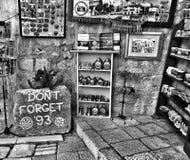 In herinnering van Bosnische Oorlog Stock Afbeelding