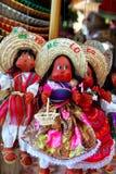 Herinnering van de marionetten de Mexicaanse handcrafts van Doll Royalty-vrije Stock Foto