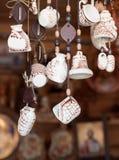 Herinneringen van klei worden gemaakt die Royalty-vrije Stock Fotografie