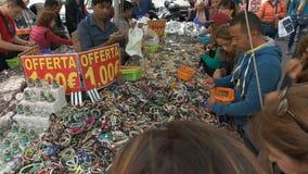 Herinneringen voor verkoop in Rome stock videobeelden