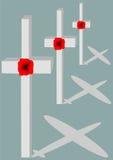 Herinneringsvliegtuigen Royalty-vrije Stock Afbeeldingen
