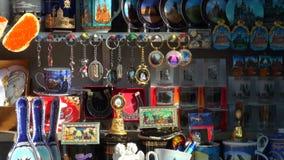 Herinneringswinkel, Stuk speelgoed, houten militair, stock videobeelden
