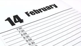 Herinnert Valentijnskaartendag - Tijdtijdspanne stock videobeelden