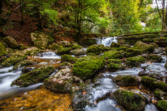 Herisson Falls Royalty Free Stock Image