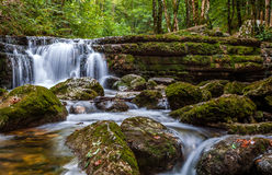Herisson Falls Royalty Free Stock Images