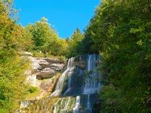 Herisson Wasserfall, Frankreich Stockbilder