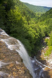 Herisson Waterfalls Royalty Free Stock Photography