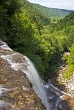 Herissonwatervallen Royalty-vrije Stock Fotografie