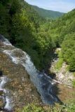 Herissonwatervallen Stock Afbeeldingen