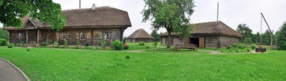 Heritage. Museum Mickiewicz's manor Adama in village Zaosje in Byelorussia Royalty Free Stock Photography