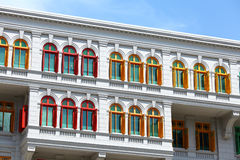 Heritage architecture in Singapore Stock Photos