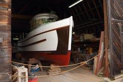 Heritage Boat Restoration, Steveston Royalty Free Stock Photos