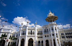 Heritage building in Kuala Lumpur royalty free stock photography
