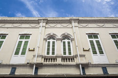 Heritage Building Windows, George Town, Penang, Malaysia Royalty Free Stock Image