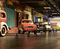 Heritage Car models in Heritage transport Museum in Gurgaon, India Royalty Free Stock Photo