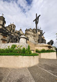 Heritage of Cebu Monument. The Heritage of Cebu Monument is a mix of sculptures made of concrete, bronze, brass and steel showing scenes relating to the history Stock Photo