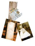 Heritage Collage. A group of pictures depicting war eras of times past. Gas ration coupons from 1945, a headstone for a Confederate soldier and a vintage photo royalty free stock photography