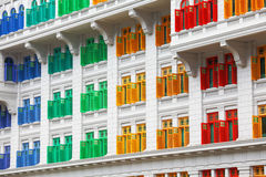Heritage colourful Windows Royalty Free Stock Photo