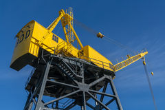 Heritage Crane in North Vancouver Stock Photography