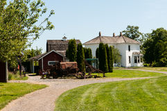 Heritage Farm. Dating from the late 1800s Stock Images